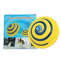Woof Glider Dog toy Sounder Игрушка для игр с большими и маленькими собаками