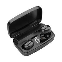 Беспроводные вакуумные Bluetooth наушники с микрофоном для телефона J16 блютуз гарнитура с боксом для зарядки