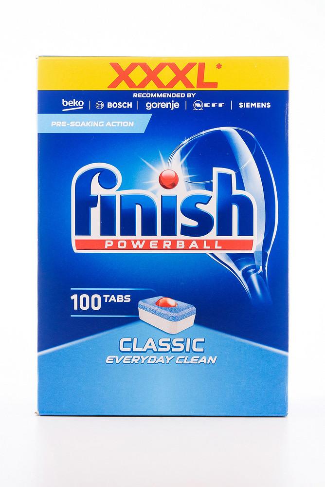 - Finish Classic табл. д/посуд.миюч. машин (4*100*16гр) Regular