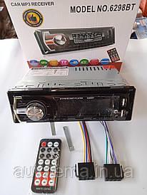 Автомагнітола 1DIN MP3 6298BT (1USB, 2USB-зарядка, TF card, bluetooth)