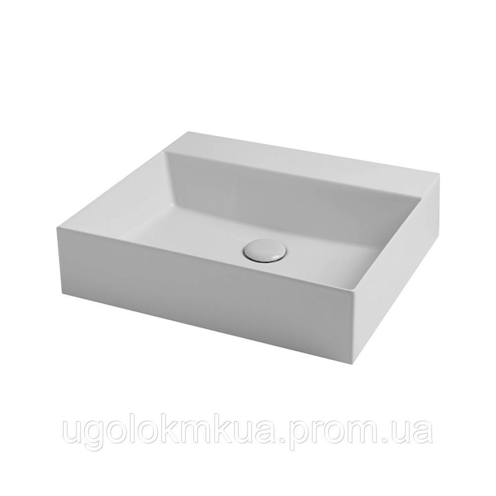 Раковина Azzurra Elegance squared EQA50MB1 Shiny white