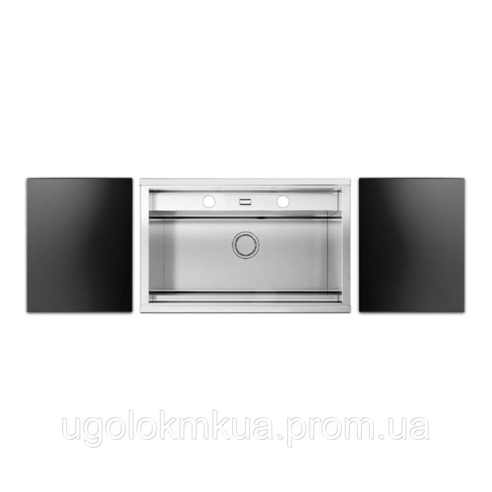 Набір Apell мийка кухонна Regola Satin RE791IKITB + змішувач Telescopic APF1260CR