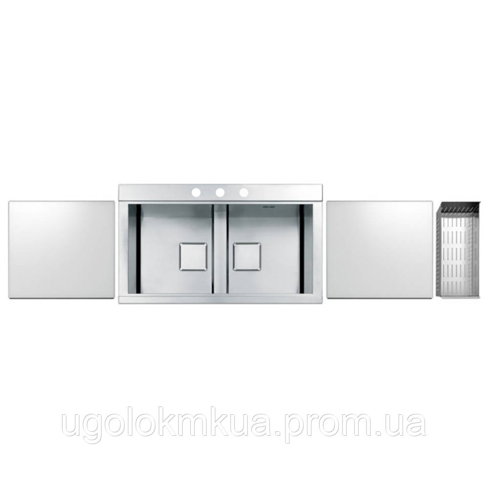 Кухонна мийка Apell Sinphonia PD862IKITW Satin