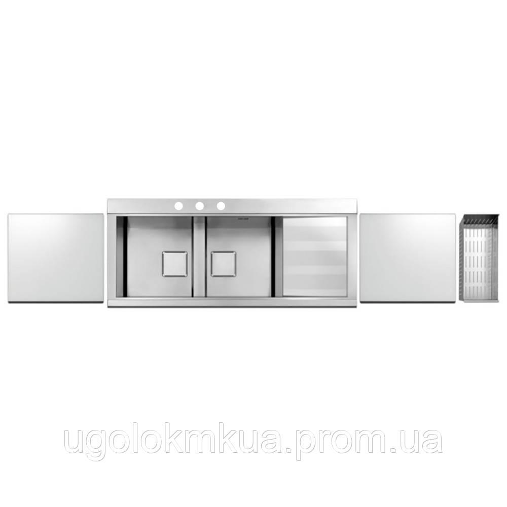 Кухонна мийка Apell Sinphonia PD1162IRKITW Satin