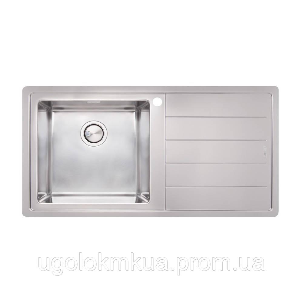 Кухонна мийка Apell Linear Plus LNP1001FRBC Brushed