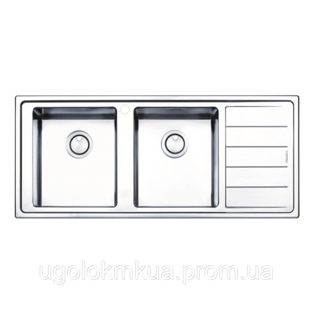 Кухонна мийка Apell Linear Plus LNP1162FRBC Brushed