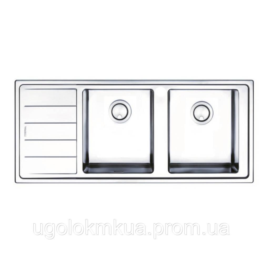 Кухонна мийка Apell Linear Plus LNP1162FLBC Brushed