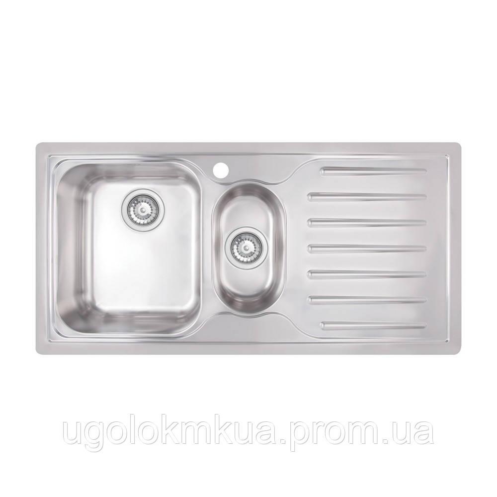 Кухонна мийка Apell Torino TO1002IRBC Brushed