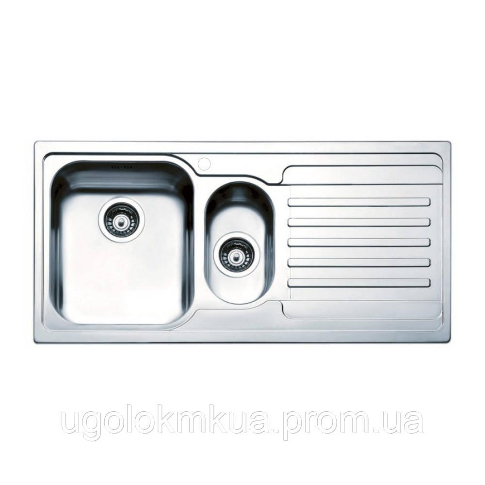 Кухонна мийка Apell Venezia VE1002IRBC Brushed