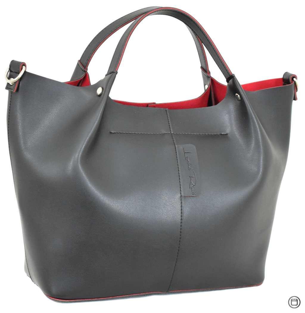 Жіноча сумка на кожен день Україна 575 чорна нс