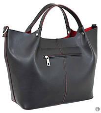Жіноча сумка на кожен день Україна 575 чорна нс, фото 2