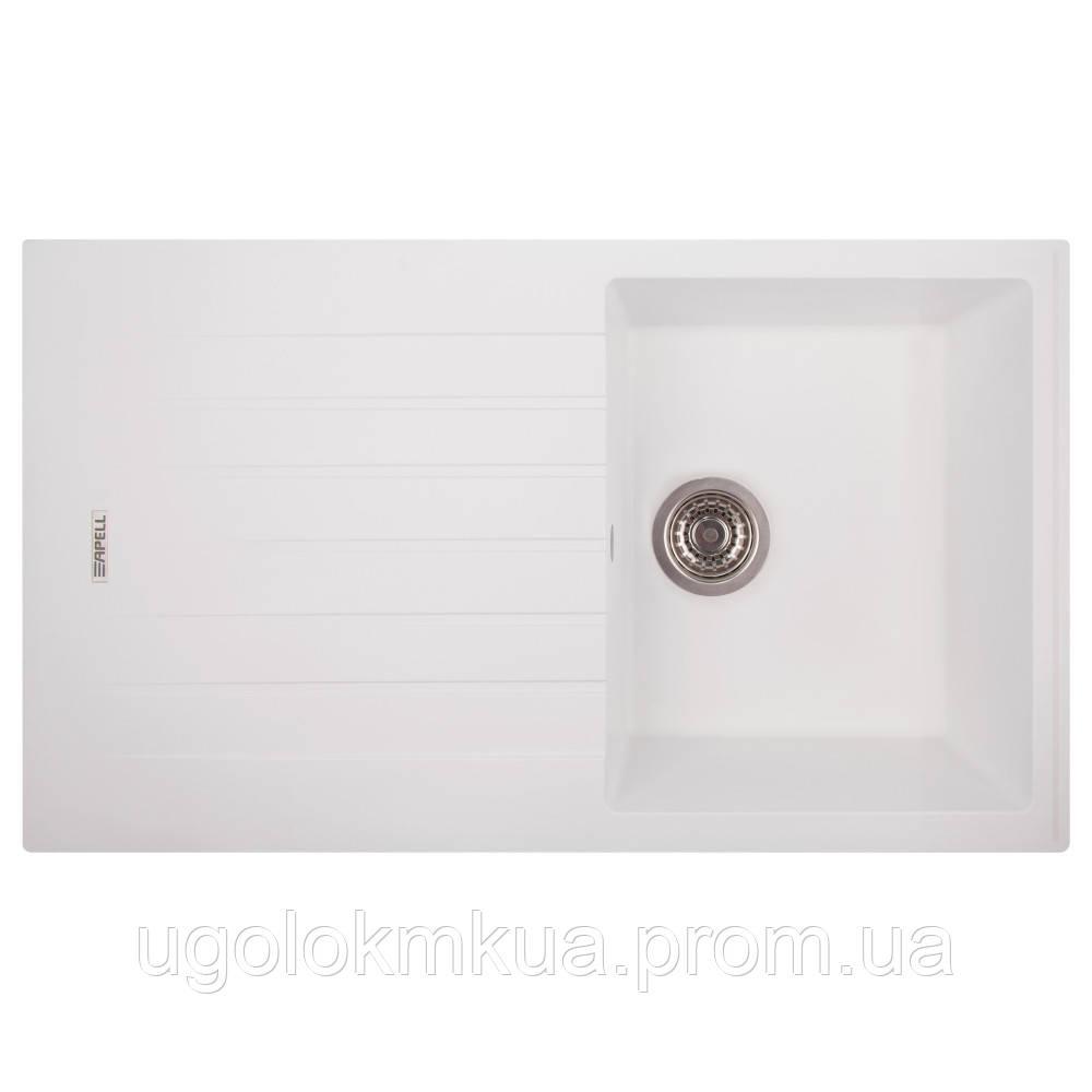 Кухонна мийка Apell Pietra Plus PTPL1001GW Total white