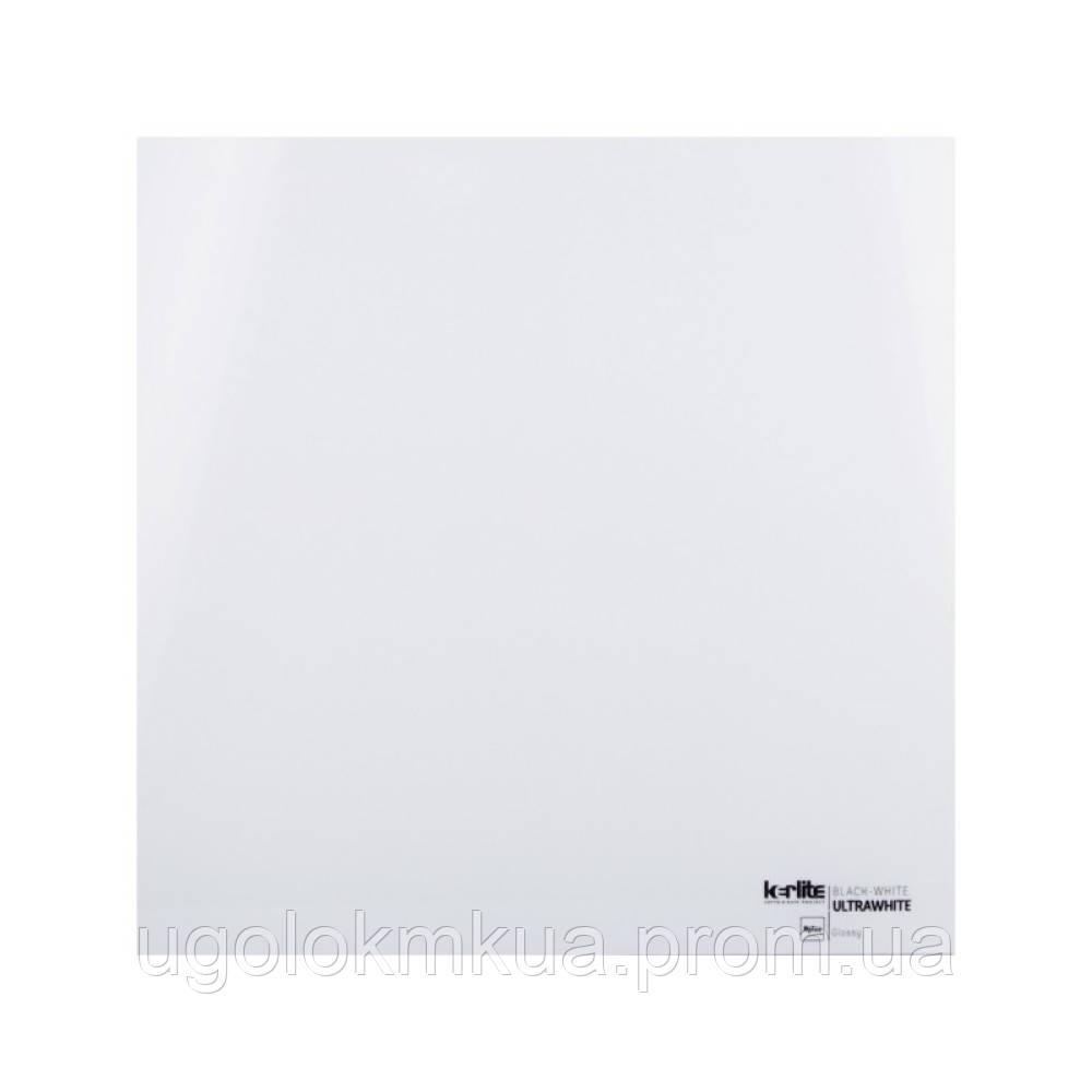 Керамогранітна плитка Kerlite White EK7KB60 5 Plus ULTRAWHITE GLOSSY 5 мм