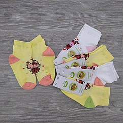 Носки детские с сеткой, для девочки, ЕКО, р.12(1-2), случайное ассорти, 30030720