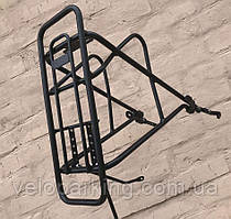 Алюмінієвий багажник на фэтбайк 4.0 (велосипед позашляховик) універсальний диск 24/26/29