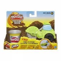Набор для творчества Hasbro Play-Doh Машинка резчик для строительства дорог (49492-1)