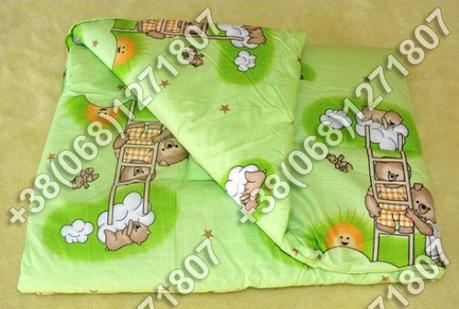 Детское теплое одеяло 105х145 в кроватку антиаллергенное, фото 2