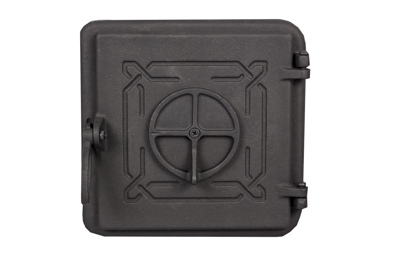 Чугунная дверца для печи -Dunántúl 25 х 25 см/22х22см