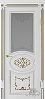 Двері Німан ВІП модель Сільвія скло саті
