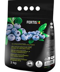 Добриво для лохини та садових ягід Fertis НВК 12-8-16+МО 3 кг Литва