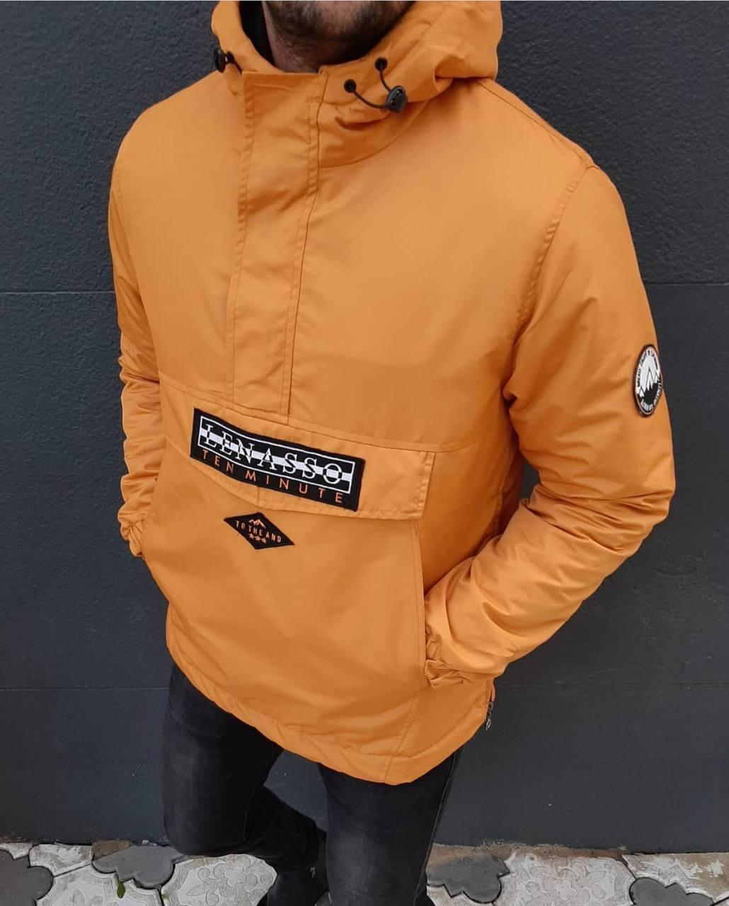 Чоловіча куртка анорак з капюшоном