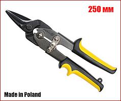 Ножницы по металлу 250 мм прямой рез Vorel 48082