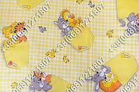 Детское шерстяное одеяло 105х145 в детскую кроватку