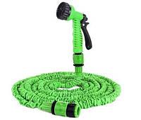 Шланг садовий поливочный Magic hose Шланг XHOSE 45 м Зеленый Садовый шланг для полива чудо шланг