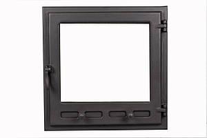 Стеклянные двери для камина - VVK 48 х 48 см/42х42см