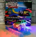 Дитячий світиться гнучкий трек Magic Tracks 220 деталей, фото 2