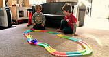 Дитячий світиться гнучкий трек Magic Tracks 220 деталей, фото 5