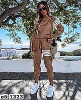 Стильный качественный женский спортивный костюм С, М +большие размеры