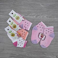Носки детские с сеткой, для девочки, ЕКО, р.12(1-2), случайное ассорти, 30030721