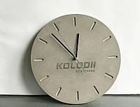 Годинник з бетону d 30