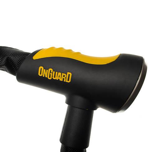 Велозамок Onguard 8119 MASTIFF 80см x 8мм Чорний, фото 3