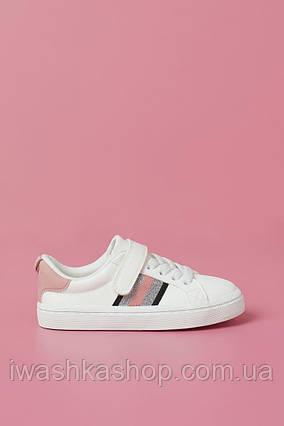 Белые кроссовки на девочку 32 р. H&M