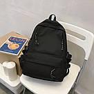 Рюкзак для подростков черный Goghvinci., фото 2