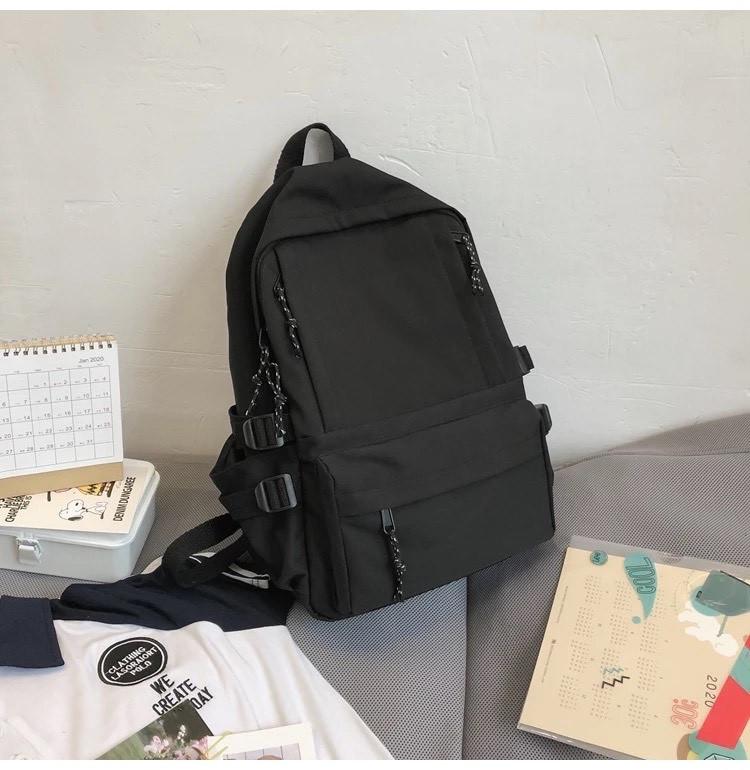 Рюкзак для подростков черный Goghvinci.