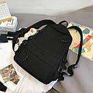 Рюкзак для подростков черный Goghvinci., фото 3