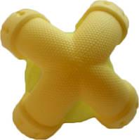 9543 Іграшка тенісний м'яч AnimAll GrizZzly 9543 11.2 х 11.2 х 10.7 см Жовтий (6914068019543)