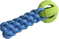9550 Игрушка кроссфит с мячом AnimAll GrizZzly 9543 24х10х6 см Сине-зеленый (6914068019550)