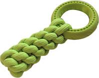 9574 Игрушка кроссфит с кольцом AnimAll GrizZzly 9574 24х10 см Зеленый (6914068019574)