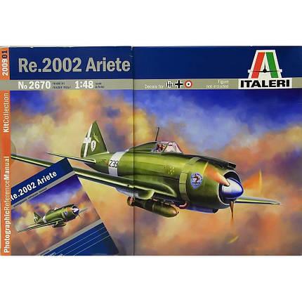 Italeri 1/48 Re.2002 Ariete, фото 2