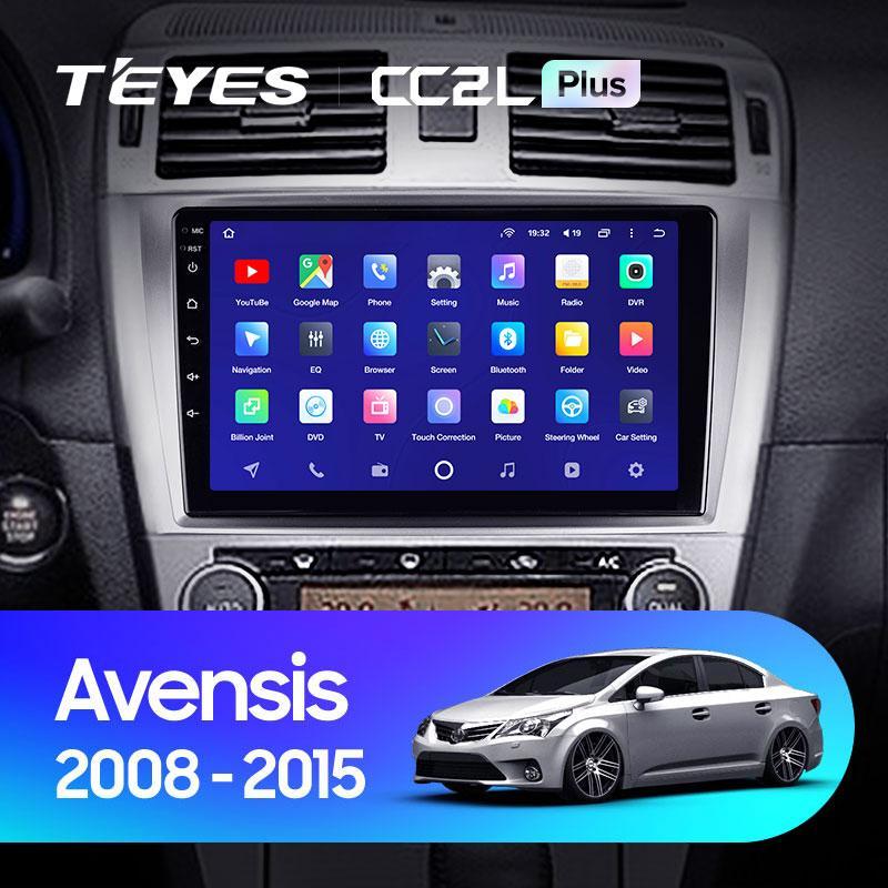 Штатная магнитола Teyes Toyota Avensis 2008-2015 Android