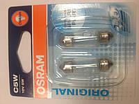Osram 12 5w C5W 6418-02B лампа авто 35мм