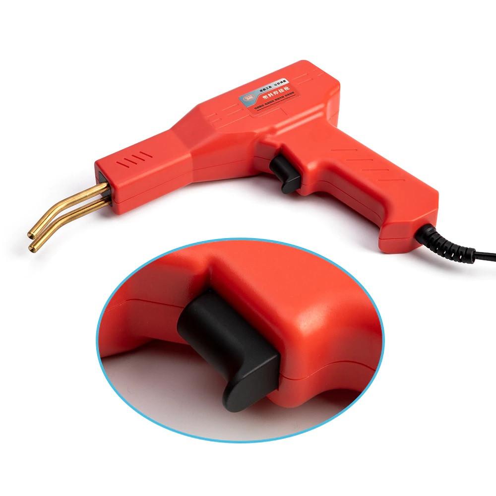 Гарячий степлер для ремонту пластику + 200 скоб