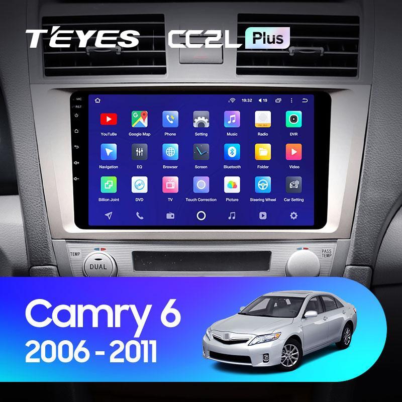 Штатная магнитола Teyes Toyota Camry 40 2006-2011 Android