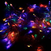 Гирлянда новогодняя, разноцветная 100 M-2