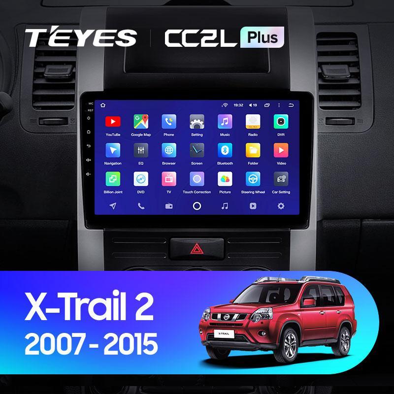 Штатная магнитола Teyes  Nissan X-Trail T31 2007-2015 Android