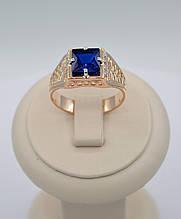 Мужское золотое кольцо Фараон